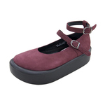 BELLY BUTTON No.872 / Purple Nubuck Shoes