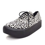 BELLY BUTTON No.8806 / Cheetah Oxfords