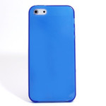 iPhone 5 TPU Translucent Shell Case - Blue