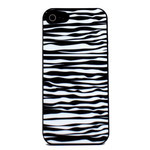iPhone 5 Animal Design Silicone Case - Zebra