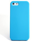 iPhone 5 Slender Silicone Case - Blue