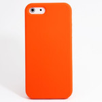 iPhone 5 Slender Silicone Case - Orange