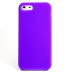 iPhone 5 Slender Silicone Case - Purple