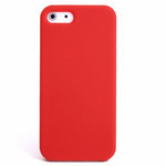 iPhone 5 Slender Silicone Case - Red