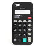 iPhone 5 Silicone Shell Case - Calculator (Black)