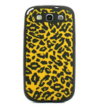 GALAXY S3 Animal Silicone Case - Cheetah