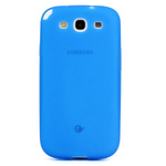 GALAXY S3 TPU Shell Case - Translucent Blue