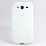 GALAXY S3 TPU Shell Case - White