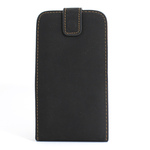 GALAXY S3 Vertical Folding Leather Case - Black