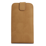 GALAXY S3 Vertical Folding Leather Case - Beige