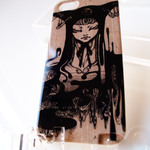 Trilabo original iPhone 5 Artist Collaboration Jacket (Sayuka Bloodstone) -Apoptosis-