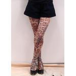 Harajuku Style Leopard Tights/Leggings - Made in Japan