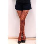 Harajuku Style Brown Leopard Tights/Leggings - Made in Japan