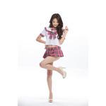 AKIBA Sailor's Uniform Style Pink Checkered Mini Skirt
