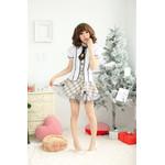 AKIBA-style Checkered Princess Skirt Set