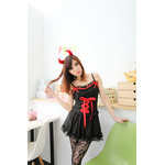 She-Devil Lace Camisole Cosplay Costume