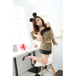 Cute Tiger Seductress Cosplay Costume