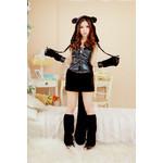 Cute Bear Pirate Cosplay Costume Set