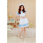 Two-Way Maid/Nurse Cosplay Costume Set (Blue)