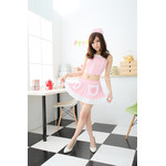 Pink Maid/Nurse Cosplay Costume