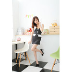 Pin-Stripe Secretary Cosplay Costume