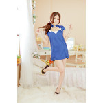 V-neck China Dress Cosplay Costume