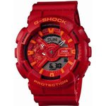 "CASIO G-SHOCK BIG CASE ""BLUE & RED "" Series GA-110AC-4AJF"