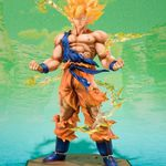 Banai Figuarts ZERO Dragon Ball Kai Super Saiyan Goku Action Figure Anime Japan