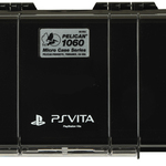 PELICAN 1060 BLACK MICRO CASE Waterproof dustproof for PlayStation (R) Vita