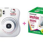 Fuji Fujifilm Instax Mini 25 Polaroid Camera Hello Kitty model Whit (w/ 50 Film)