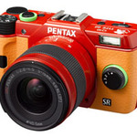 PENTAX Q10 Asuka Langley Evangelion model EVA TYPE02 Limited Digital single-lens camera Japan Improt