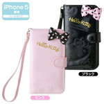 Sanrio Hello Kitty Folded notebook type iPhone5 Case Pink