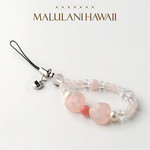 Sanrio Hello Kitty × Malulani Hawaii power stone strap Charm up