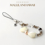 Sanrio Hello Kitty × Malulani Hawaii power stone strap work luck
