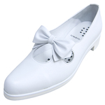 UNBILICAL No.250 / White smooth leather