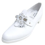 UNBILICAL No.252 / Bijoux White smooth leather
