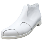 UNBILICAL No.259 / White Ankle boots