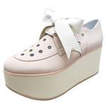 BELLY BUTTON No.923 / Pink ribbon Platforms