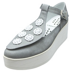 UNBILICAL No.154 / Gray nubuck leather