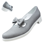 UNBILICAL No.250 / Gray nubuck leather