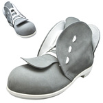 BELLY BUTTON No.271 / Gray nubuck leather