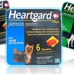 Merial Japan Heartgard(Cardomec) Chewable 25-50lbs - 6count Heartworm