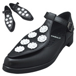 UNBILICAL No.954 / Black & White bijou shoes
