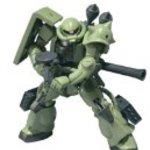 """Bandai Tamashii Nations Robot Spirits Zaku II """"Gundam"""" Action Figure"""