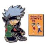 Naruto: Kakashi & Make-Out Paradise Book Anime Pin Set