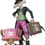 """Bandai Tamashii Nations Tony Chopper and Dr. Hiluluk """"One Piece"""" Figuarts Zero Action Figure"""