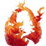 Bandai Tamashii Nations Tamashii Effect Burning Flame Action Figure, Red