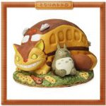 Totoro catbus and Visual scene collection Studio Ghibli music boxes and