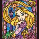 Stained Art 266 piece Disney Rapunzel stained glass DSG-266-748 tightly