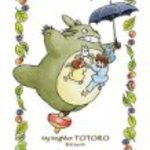 150-G02 to fly Totoro collage art series My Neighbor Totoro 150 Piece Mini Puzzle